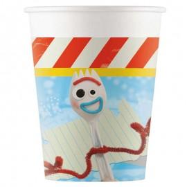8 Vasos Toy Story 4 200 ml