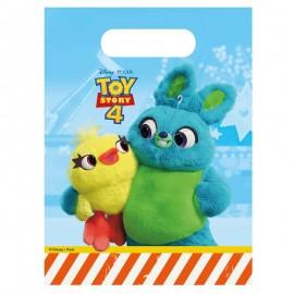 6 Bolsas Toy Story 4