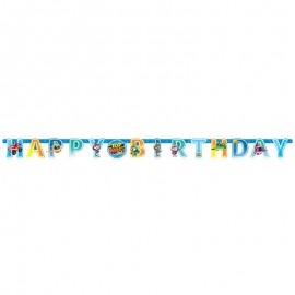 Festone Happy Birthday Top Wing 218 x 12 cm