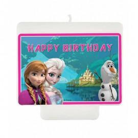 Candele Happy Birthday Frozen Northern Lights