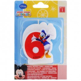 Candela nº6 Mickey Mouse
