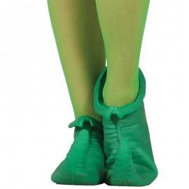 Zapatos Verdes de Elfo