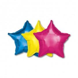Palloncino Forma Stella Foil 46 cm