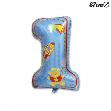 Palloncino Primo Anno Bambino Foil 87 cm