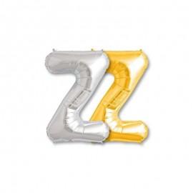 Palloncino Lettera Z Foil 81 cm