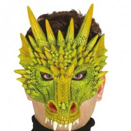 Media Máscara Foam de Dragón