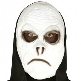 Máscara Zombie Blanquecino con Capucha