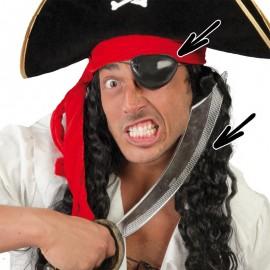 Sable Pirata con Parche 47 cm