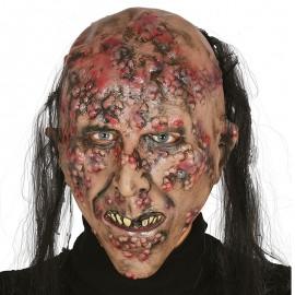 Careta Zombie Infectado Látex