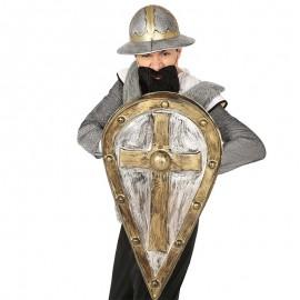 Escudo Medieval Cruz Señorial