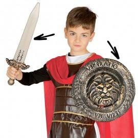 Escudo y Espada Casa Lion Infantil