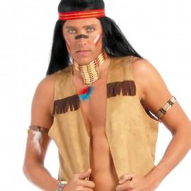 Chaleco de Indio con Flecos