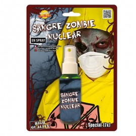Spray Sangre 60 ml Verde Zombie