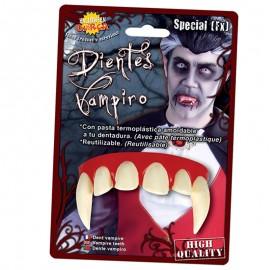 Dientes Vampiro de Encías Enrojecidas