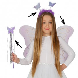 Conjunto Mariposa Infantil 50 x 36 cm