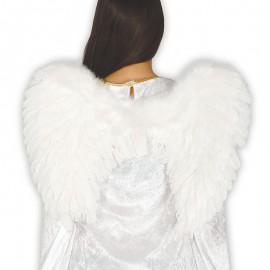 Alas de Ángel con Plumas Blancas 60 x 45 cm