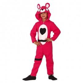 Costume da Orso Rosa per Bambini