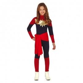Costume Capitan Marvel per Bambina