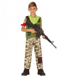 Costume da Mercenario Gamer per Bambino