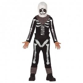Costume Skeleton Soldier per Bambini