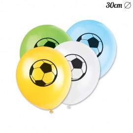 8 Palloncini Calcio 30 cm