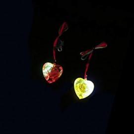 Collana LED con Cuore Luminoso
