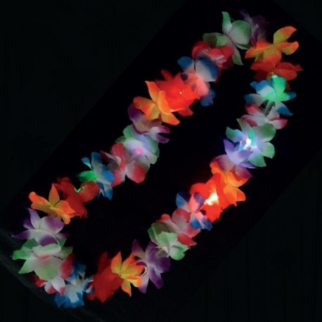 Collana Luminosa Led Hawaiana