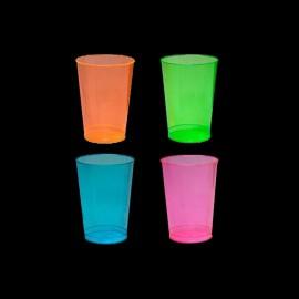 Bicchiere da Bibita con Luce a Neon UV (50 pz)