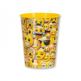 Bicchiere con Emoticon Sorriso 475 ml