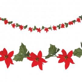 Ghirlanda Stella di Natale Piccola 200 Cm