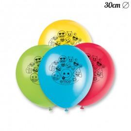 8 Palloncini con Emoticons 30 cm