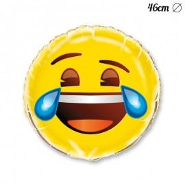 Palloncino Foil Emoji con Risata 46 cm