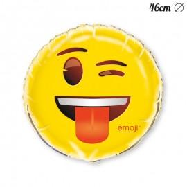 Palloncino Foil con Emoticon Occhiolino 46 cm
