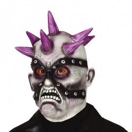 Maschera Zombie Punky Látex