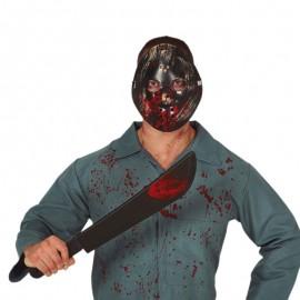 Set Maschera e Machete 54 cm