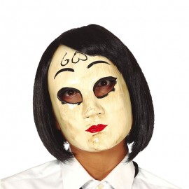 Maschera Donna con Cuore