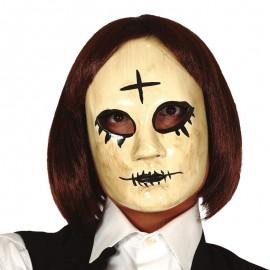 Maschera Donna con Croce