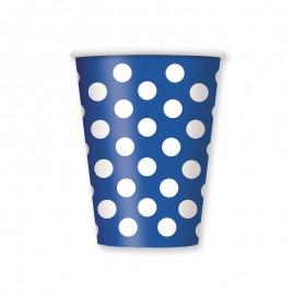 6 Bicchieri con Pois 355 ml