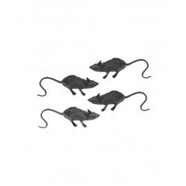 Bustina con 4 Ratti 6 cm