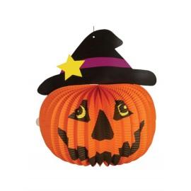 Lanterna Zucca Halloween 17 cm