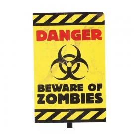 Segnale pericolo Halloween 25X38 cm