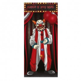 Decorazione per porta da clown 75 X 150 cm