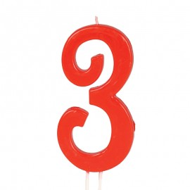 Candela Rossa Nº 3 12 cm
