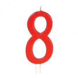 Candela Rossa Nº 8 12 cm