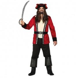 Costume Pirata Caraibico Adulto