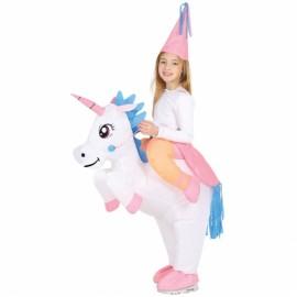Costume da Unicorno Gonfiabile per Bambina