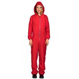 Costume Detenuta Capuccio Rosso Adulta