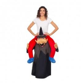 Costume Ride on con Strega Nera