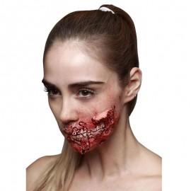 Cicatrice Bocca Sfregiata Zombie