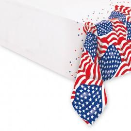 Tovaglia con Bandiere Americane 54 x 108 cm